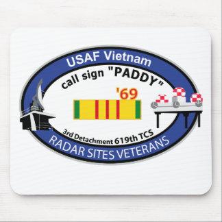 Vietnam Radar Sites Veteran Insignia-2 Mouse Pads