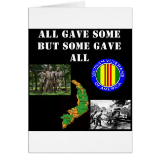 Vietnam Remembrance Card