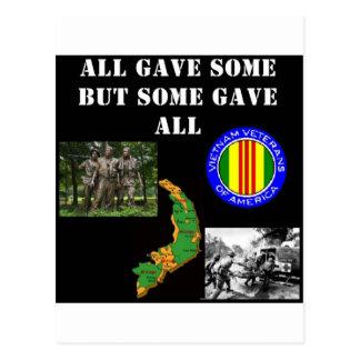 Vietnam Remembrance Postcard