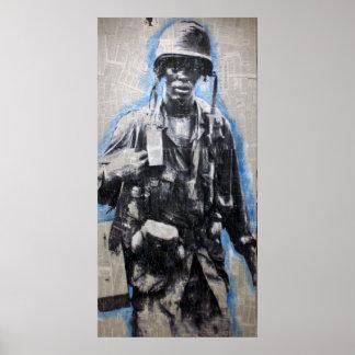 Vietnam Soldier Poster