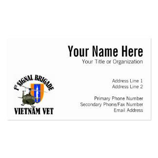 Vietnam Vet - 1st Sig Bde Pack Of Standard Business Cards