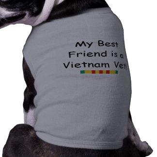 Vietnam Vet Best Friend Dog T-shirt