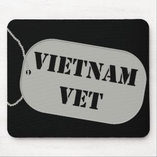 Vietnam Vet Tag Mousepad