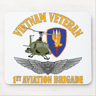 Vietnam Veteran Aircrew Wings Mouse Pad