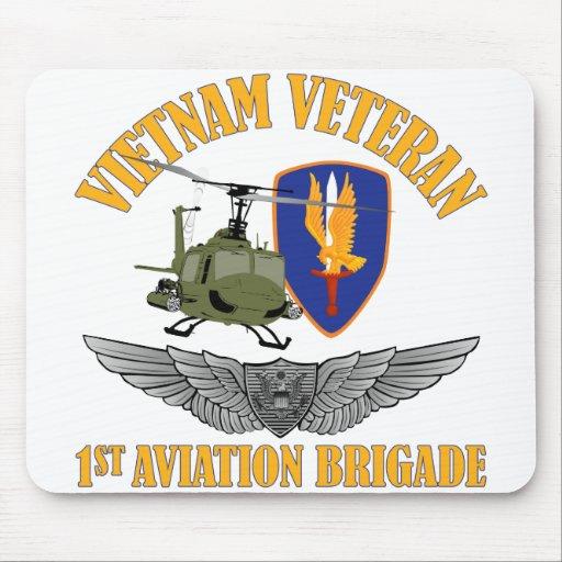 Vietnam Veteran Aircrew Wings Mousepads