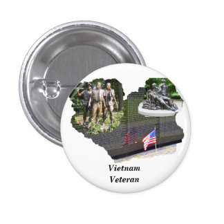 Vietnam Veteran Buttons