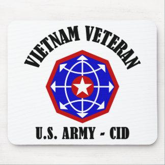 Vietnam Veteran - CID Mouse Pad