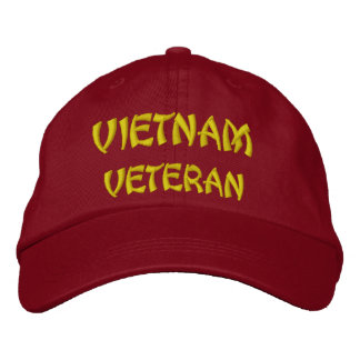 VIETNAM VETERAN EMBROIDERED HATS