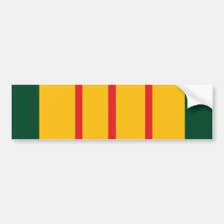 Vietnam Veteran Flag Bumper Sticker
