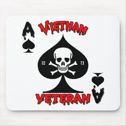 Vietnam Veteran gifts 1972 to 1973 Mouse Mat