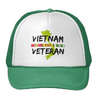 Vietnam Veteran Mesh Hats