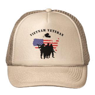 Vietnam Veteran Mesh Hat