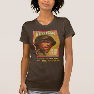 Vietnam Veteran - In Memory of ... - Customizable T-Shirt