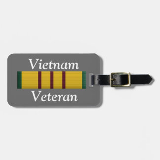 Vietnam Veteran - luggage tag