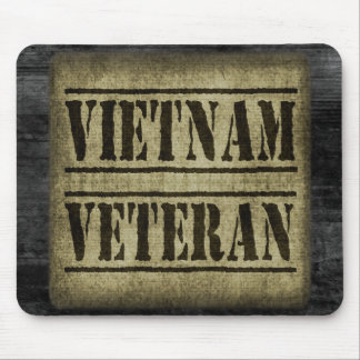 Vietnam Veteran Military Mouse Pad