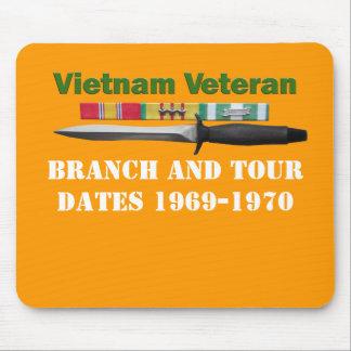 Vietnam Veteran Mouse Pad