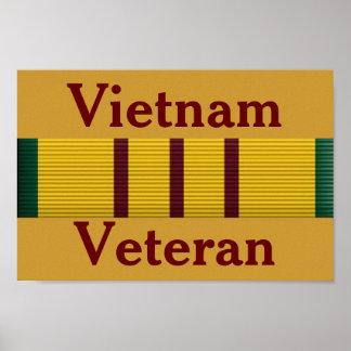 Vietnam Veteran -Poster Poster
