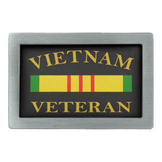 Vietnam Veteran Rectangular Belt Buckles