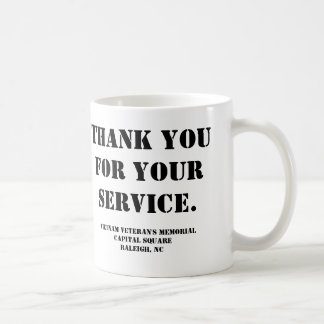 Vietnam Veteran's Memorial Coffee Mug