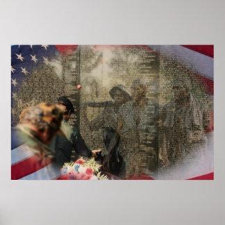 Vietnam Veterans Memorial Print