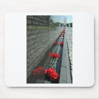 Vietnam veterans Memorial Wall Mouse Pad