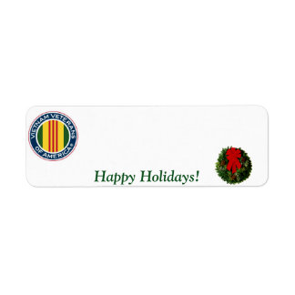 Vietnam Veterans of America Holiday Label #3 Return Address Label