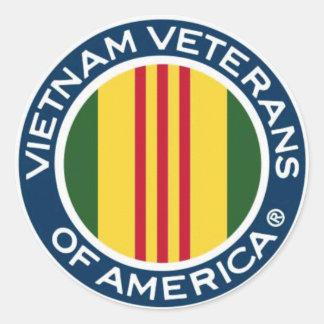 Vietnam Veterans of America Small Stickers