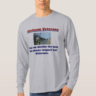Vietnam Veterans t-shirt Respect our Veterans