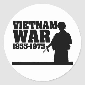Vietnam War 1955-1975 Stickers
