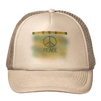 Vietnam war helmet graffiti hat