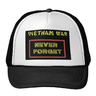 VIETNAM WAR - NEVER FORGET CAP