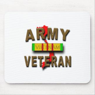 Vietnam War Veteran Service Ribbon, ARMY Mouse Pad