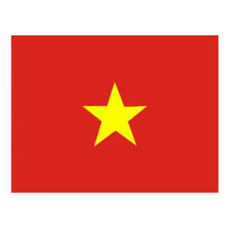 Vietnamese Flag Postcard