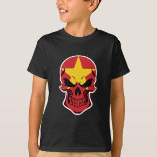 Vietnamese Flag Skull T-Shirt
