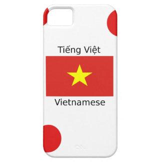 Vietnamese Language and Vietnam Flag Design iPhone 5 Case