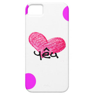 Vietnamese Language of Love Design Barely There iPhone 5 Case