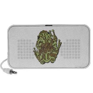 Vietnamese Mossy Frog Notebook Speakers