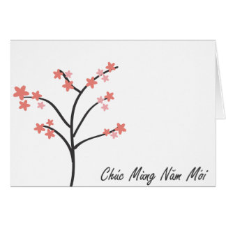 Vietnamese New Year Greeting Greeting Card