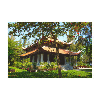 Vietnamese Temple Canvas Print