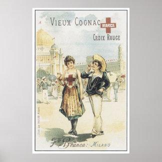 Vieux Cognac Poster