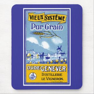 Vieux Systeme Pur Grain Mouse Pad