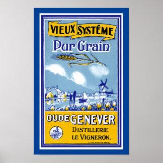 Vieux Systeme Pur Grain Poster