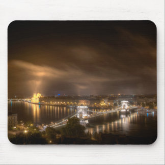 View across Budapest from Buda Castle Mousemats