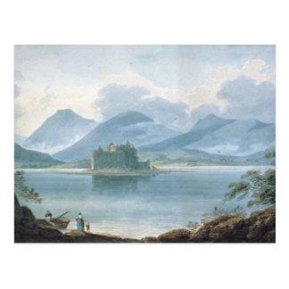 View across Loch Awe Postcard