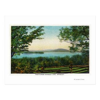 View Across Rangeley Lake Postcard