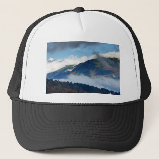 View across to Saint Catherine's Church near Bled Trucker Hat