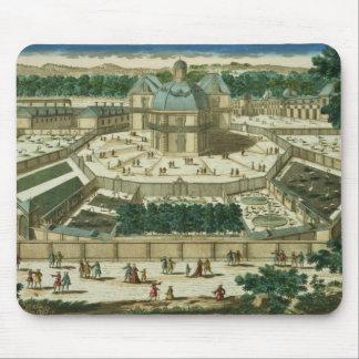 View and Perspective of the Salon de la Menagerie Mouse Pad