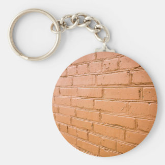 View angle on the red brick wall key ring
