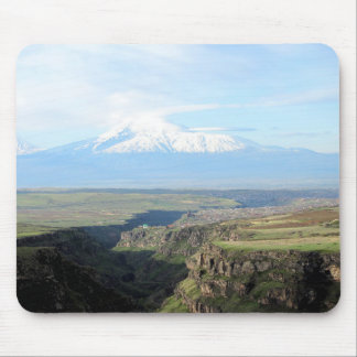 View at mountain Ararat from Armenian side Mouse Pad