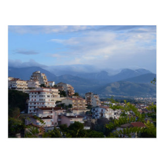 View From A Calabrian Hill Town Postcard